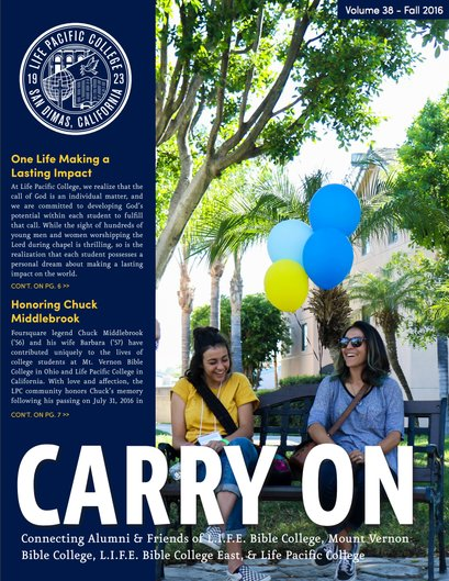 Vol.38 Carry On Fall 2016