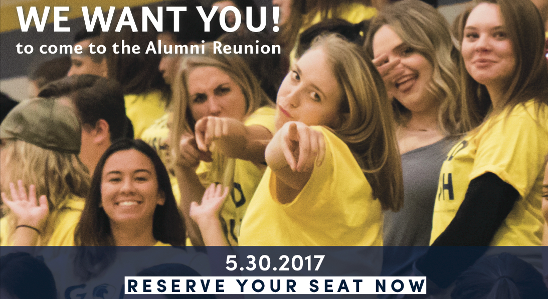 Alumni Reunion Advertisement